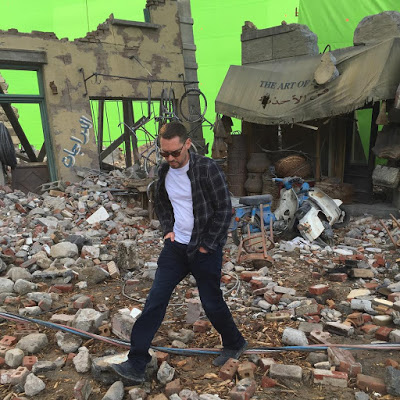 Bryan Singer publica una nueva imagen del rodaje de 'X-men: Apocalypse'