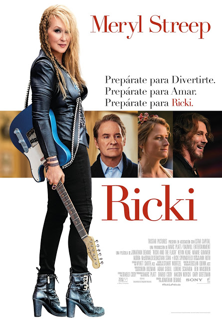 Póster y tráiler español de 'Ricki' ('Ricki and the Flash')