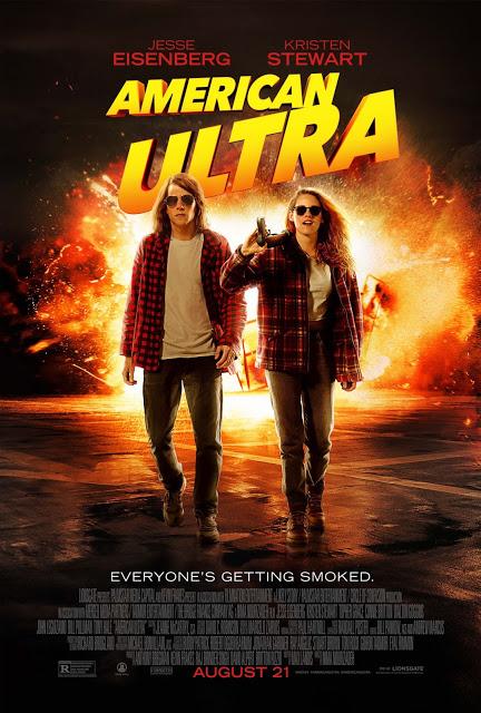 Nuevo póster y tráiler internacional de 'American Ultra' con Kristen Stewart y Jesse Eisenberg