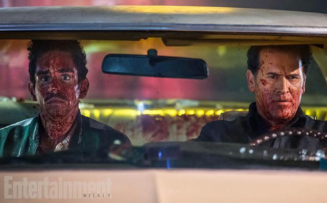 Gore, motosierra y clásicos en las nuevas fotos de 'Ash vs Evil Dead'