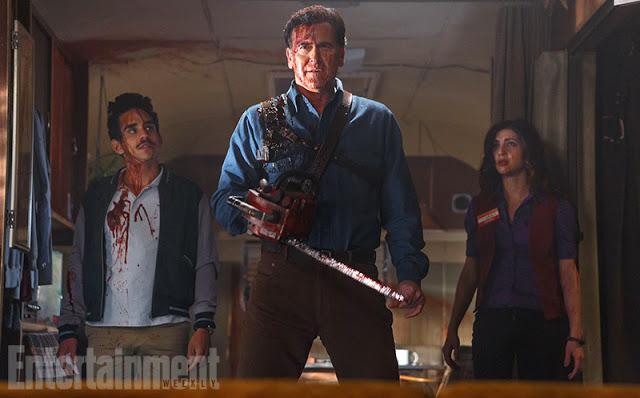Primera foto de Bruce Campbell en la serie 'Ash vs Evil Dead'