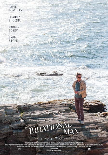 Tráiler y póster español de 'Irrational Man', lo nuevo de Woody Allen