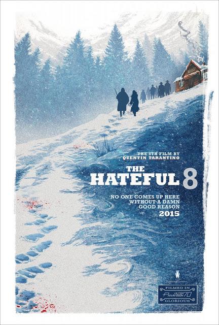 Póster de 'The Hateful Eight' que contará con banda sonora de Ennio Morricone, y posible serie de Tarantino