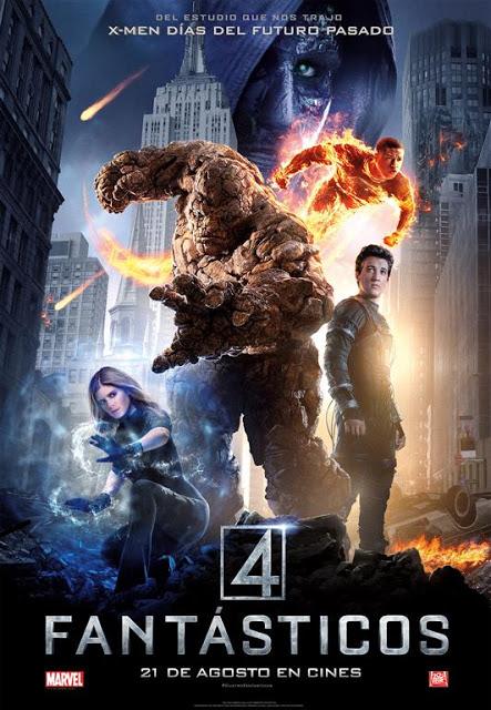 Muchos más detalles en el póster y tercer tráiler en castellano de 'Cuatro Fantásticos' (Actualizado)