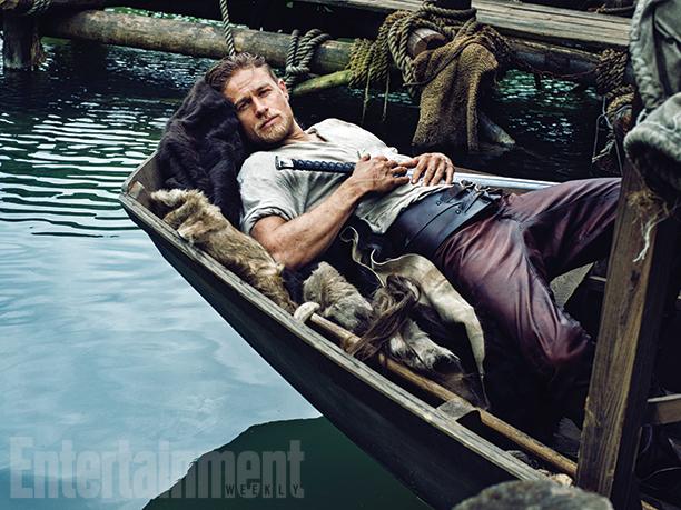 Primeras fotos de Charlie Hunnan como Rey Arturo en 'Knights of the Round Table: King Arthur'