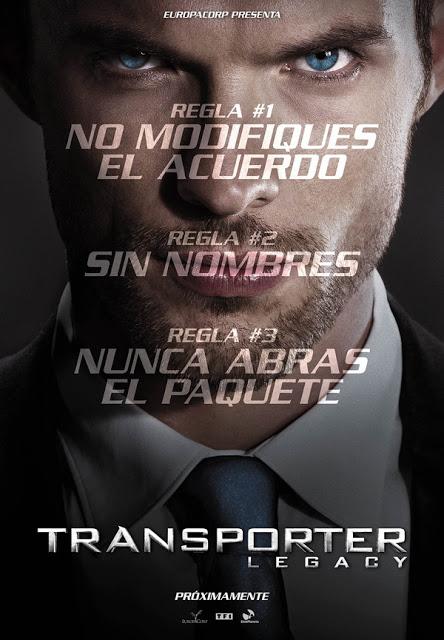 Póster y tráiler español de 'Transporter Legacy', reinicio de la saga sin Jason Statham