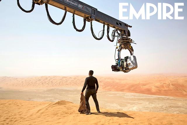 Más imágenes de 'Star Wars: El despertar de la Fuerza' en la revista Empire, que dedica su portada a BB-8