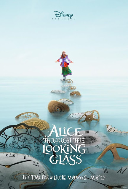 Disney revela los dos primeros pósters de 'Alice Through the Looking Glass'