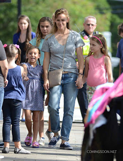 Nuevas fotos de Jennifer Garner en el set de 'Miracles From Heaven'