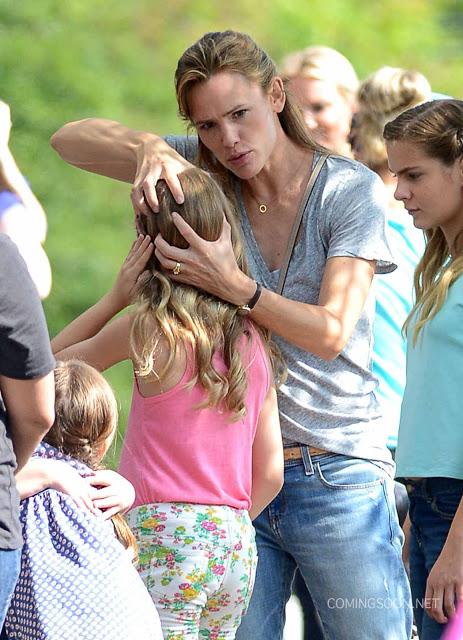 Nuevas fotos de Jennifer Garner en el set de 'Miracles From Heaven'