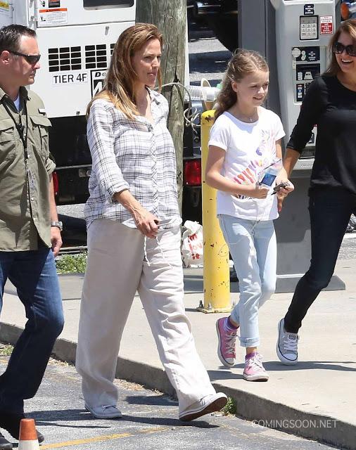 Fotos del rodaje de 'Miracles from Heaven' con Jennifer Garner y Queen Latifah