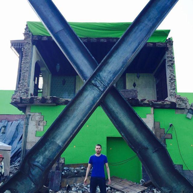Nueva foto del set de 'X-Men: Apocalypse' deja clara la destucción que veremos