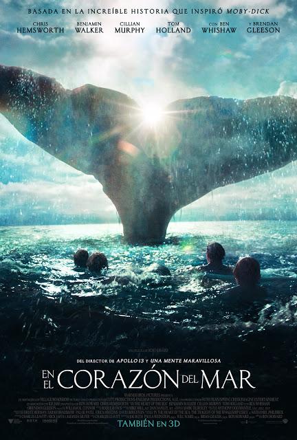 Tráiler oficial español y póster de 'En el corazón del mar'