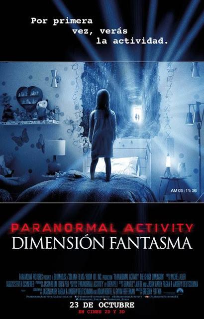 Nuevo póster y póster animado de 'Paranormal Activity: Dimensión Fantasma'