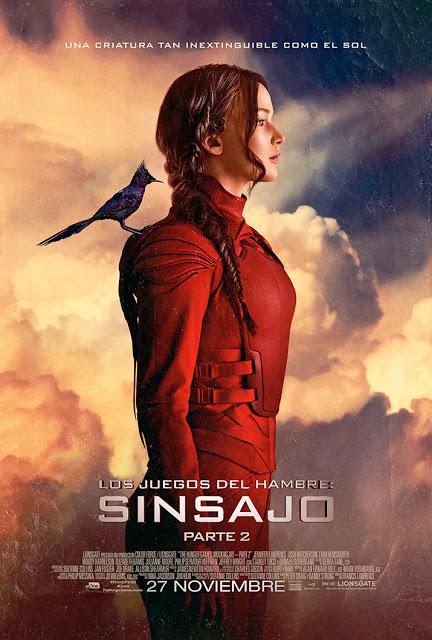 Nuevo póster de Katniss y tráiler de 'Los Juegos del Hambre: Sinsajo - Parte 2'
