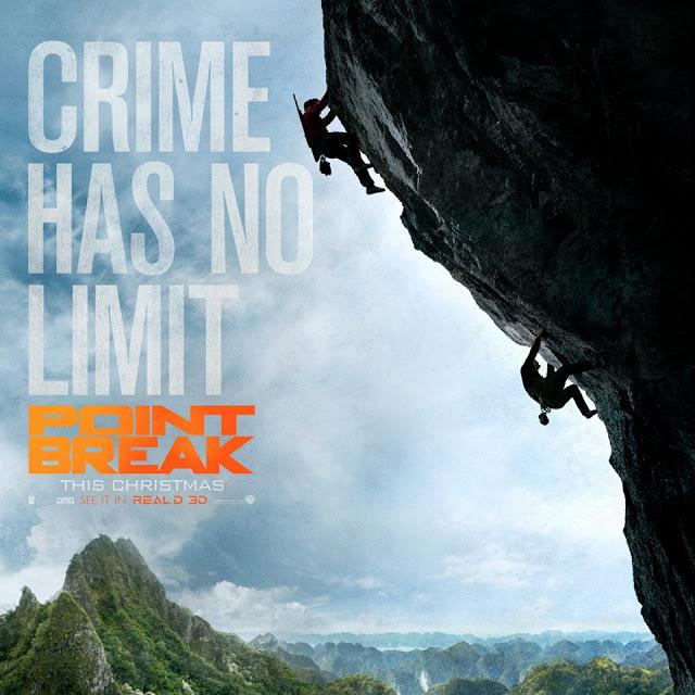 Cuatro nuevos pósters de 'Point Break (Sin Límites)'