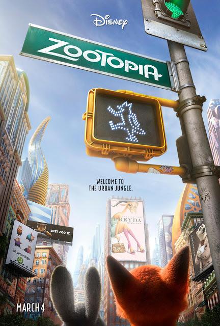 Disney presenta un nuevo póster internacional de 'Zootrópolis' ('Zootopia')