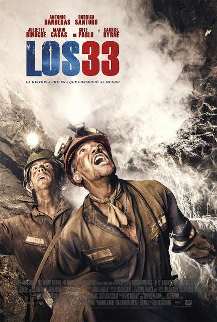 Póster y tráiler oficial en español de 'Los 33'