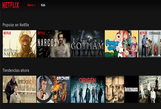 Españoles... Netflix ha llegado
