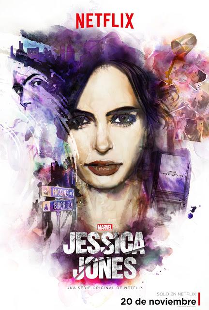 Nuevo vídeo y póster oficial de la serie 'Jessica Jones' de Netflix