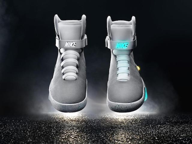 Las zapatillas de 'Regreso al futuro II', ya son una realidad