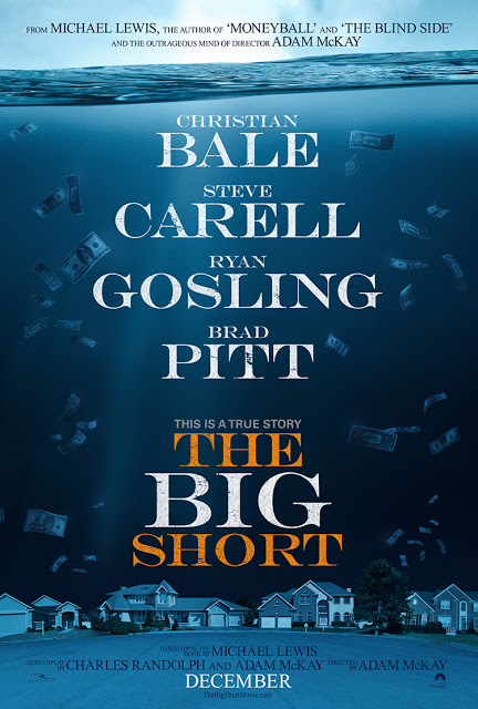 Póster oficial de 'The Big Short'