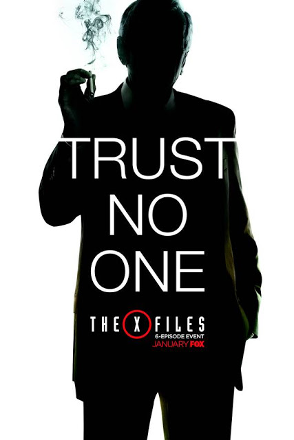 """""""No confíes en nadie"""" en el nuevo póster y el anuncio de la nueva temporada de 'Expediente X'"""