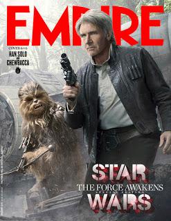 Remesa de portadas de Empire dedicadas a 'Star Wars: el despertar de la Fuerza' y nueva imagen