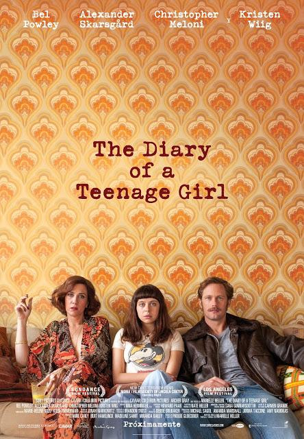 Póster y tráiler español de 'The Diary of a Teenage Girl'