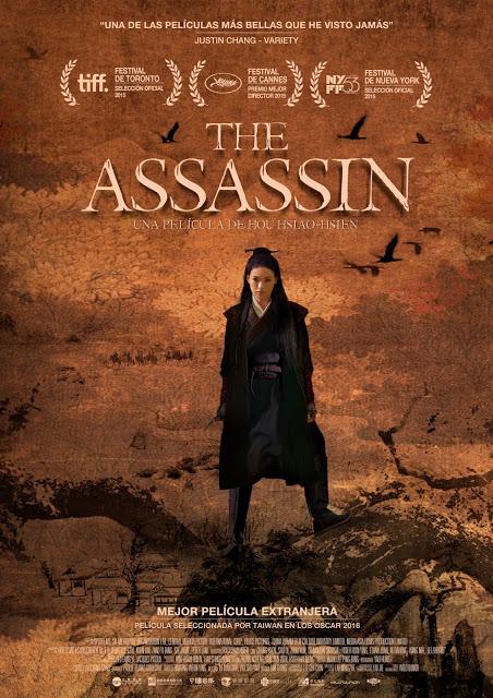 Póster y tráiler de 'The Assassin' de Hou Hsiao-Hsien