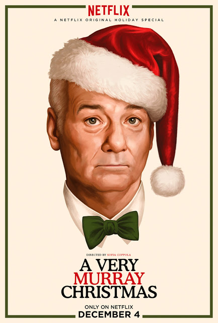 Publicado el nuevo póster de 'A very Murray christmas'