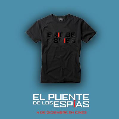 Concurso 'El Puente de los Espías': Tenemos camisetas de la película