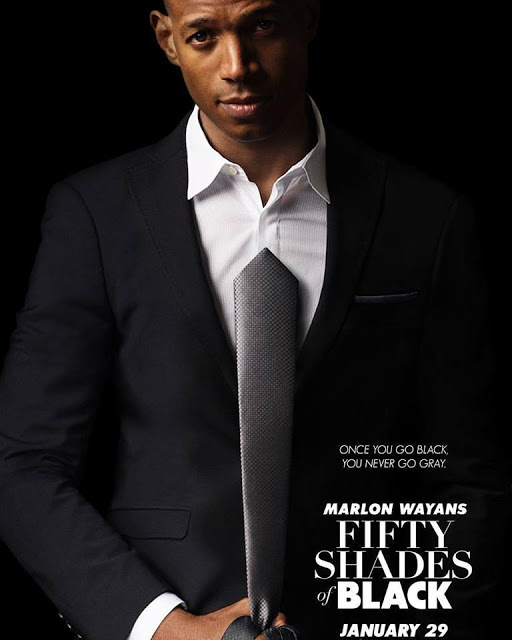 Traíler y póster de 'Fifty Shades of Black', la parodia de Cincuenta sombras de Grey