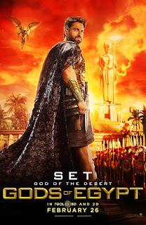 Primeros pósters individuales de 'Gods of Egypt', de Alex Proyas