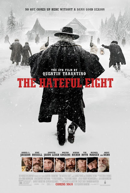 Póster oficial y primer anuncio de 'The Hateful Eight'