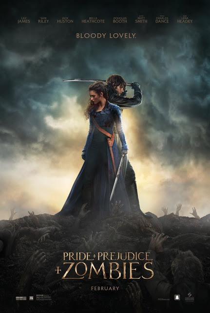 Nuevos pósters y tráiler oficial de 'Orgullo y Prejuicio y Zombies'
