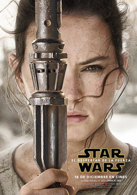 Desvelados los pósters individuales de 'Star Wars: El despertar de la Fuerza'