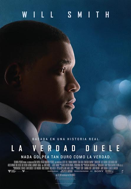 Tráiler y póster español de 'La verdad duele' con Will Smith