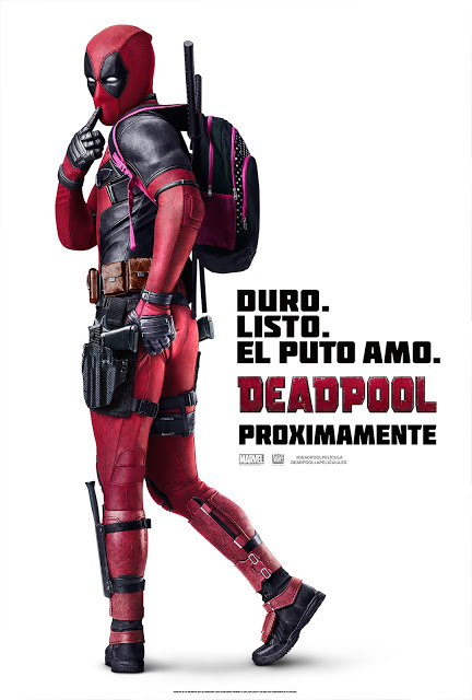 Póster y fecha de estreno en España de 'Deadpool'