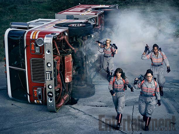 Nueva foto del regreso de 'Los Cazafantasmas' y datos de los villanos