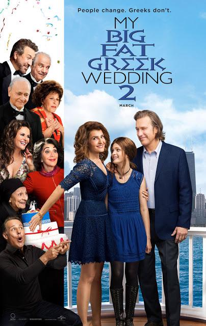 Póster internacional de 'Mi gran boda griega 2'