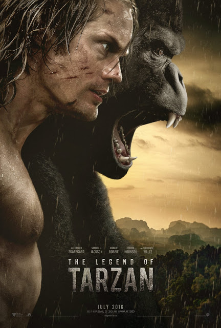 Póster y tráiler internacional de 'The legend of Tarzan'