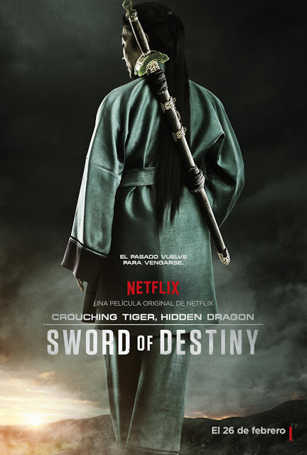 Tráiler y póster oficial de 'Crouching Tiger Hidden Dragon: Sword of Destiny'
