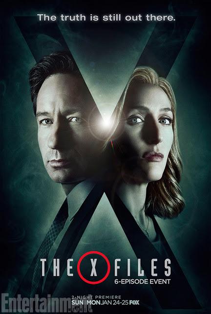 """""""La verdad está ahí fuera"""", como dice el nuevo póster de 'Expediente X'"""