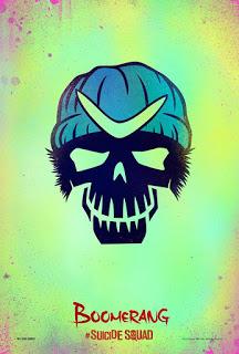 Los pósters de 'Suicide Squad' te parecerán espectaculares