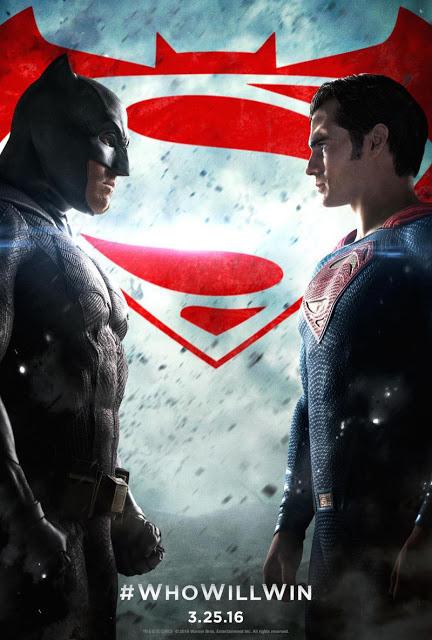 La batalla está servida en el nuevo póster de 'Batman v Superman: El amanecer de la Justicia'