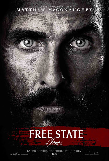 Póster y tráiler de 'Free State of Jones' con Matthew McConaughey