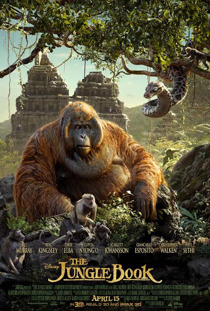 Tercer y último póster del tríptico de 'El Libro de la Selva (The Jungle Book)'