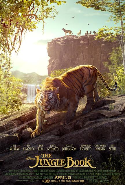 Shere Khan protagoniza el segundo póster del tríptico de 'El Libro de la Selva (The Jungle Book)'