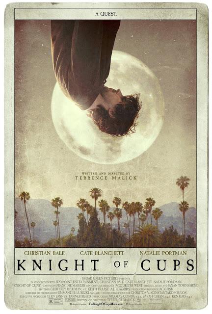 Nuevo póster de 'Knight of Cups' con Christian Bale
